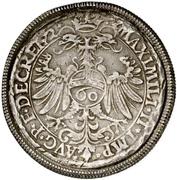 1 Guldenthaler - Friedrich von Wirsberg – revers