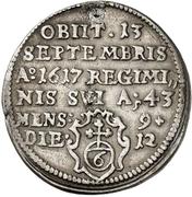 1 Groschen - Julius Echter von Mespelbrunn (Death) – revers
