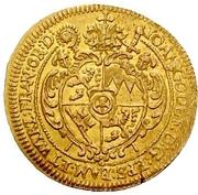1 Goldgulden - Johann Gottfried von Aschhausen (Neujahrs-Goldgulden) – avers