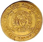 1 Goldgulden - Johann Gottfried von Aschhausen (Neujahrs-Goldgulden) – revers