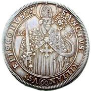 1 Guldenthaler - Johann Gottfried von Aschhausen – avers