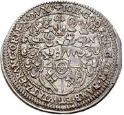 1 Groschen - Johann Gottfried von Aschhausen (Sterbegroschen; Death) – avers