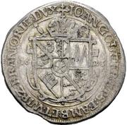 ¼ Thaler - Johann Gottfried von Aschhausen – avers