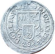 1 schilling Johann Philipp I – avers