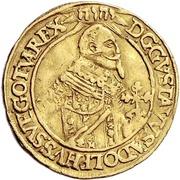 1 Ducat - Gustav Adolph II. – avers