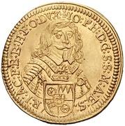 1 Ducat - Johann Philipp von Schönborn – avers