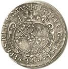 3 Kreuzer - Peter Philipp von Dernbach (Death) – avers