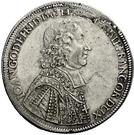 1 Thaler - Johann Gottfried II. von Guttenberg – avers
