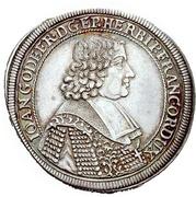 ¼ Thaler - Johann Gottfried II. von Guttenberg – avers
