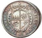 ¼ Thaler - Johann Gottfried II. von Guttenberg – revers