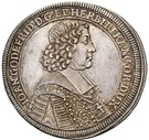 ½ Thaler - Johann Gottfried II. von Guttenberg – avers