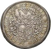 ½ Thaler - Johann Gottfried II. von Guttenberg – revers