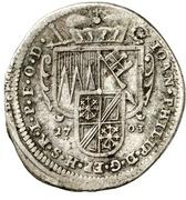 1 Schilling - Johann Philipp von Greiffenklau-Vollraths – avers