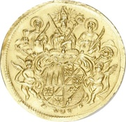 1 Goldgulden - Johann Philipp von Greiffenklau-Vollraths (Neujahrsgoldgulden) – avers
