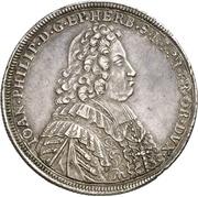 ½ Thaler - Johann Philipp von Greiffenklau zu Vollraths – avers