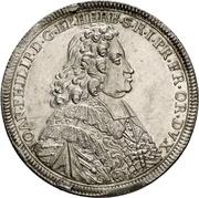 1 Thaler - Johann Philipp von Greiffenklau zu Vollraths – avers