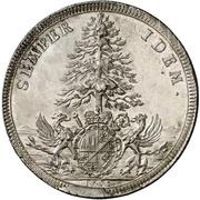 1 Thaler - Johann Philipp von Greiffenklau zu Vollraths – revers