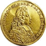 1 Ducat - Johann Philipp von Greifenklau – avers