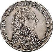 15 Kreuzer - Christoph Franz von Hutten – avers