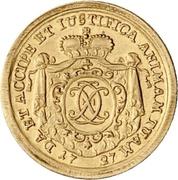 1 Ducat - Christoph Franz von Hutten – avers