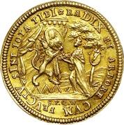 1 Goldgulden - Friedrich Karl von Schonborn (Neujahrsgoldgulden) – revers