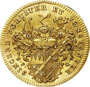 1 Goldgulden - Karl Philipp Heinrich von Greiffenklau – revers