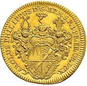 1 Goldgulden - Karl Philipp von Greiffenklau-Vollraths – avers