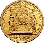 6 Ducat - Karl Philipp von Greiffenklau-Vollraths (Consecration as Prince-Bishop) – revers