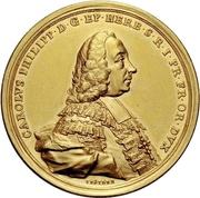 10 Ducat - Karl Philipp von Greiffenklau-Vollraths (Consecration as Prince-Bishop) – avers
