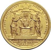 10 Ducat - Karl Philipp von Greiffenklau-Vollraths (Consecration as Prince-Bishop) – revers