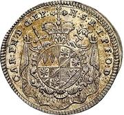 3 Kreuzer - Karl Philipp von Greiffenklau-Vollraths (Death) – avers