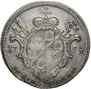 1 Thaler - Karl Philipp von Greiffenklau-Vollraths (Konventionstaler) – revers