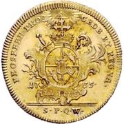 1 Goldgulden - Adam Friedrich von Seinsheim – revers
