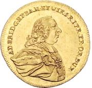 1 Ducat - Adam Friedrich von Seinsheim – avers