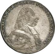 10 Kreuzer - Adam Friedrich von Seinsheim – avers