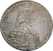 ½ Thaler - Adam Friedrich von Seinsheim (Konventionskreuzer) – avers