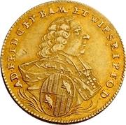 1 Goldgulden - Adam Friedrich von Seinsheim (Peace) – avers