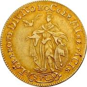 1 Goldgulden - Adam Friedrich von Seinsheim (Peace) – revers