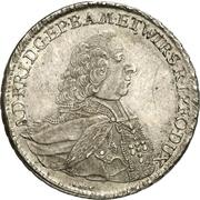 ½ Thaler - Adam Friedrich von Seinsheim (1/2 Konventionstaler) – avers