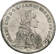 20 Kreuzer - Franz Ludwig von Erthal – avers