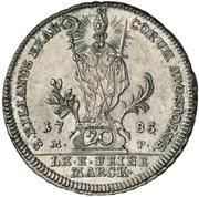 20 Kreuzer - Franz Ludwig von Erthal – revers