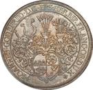 1 Thaler - Johann Gottfried II – avers