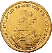 1 Goldgulden - Franz Ludwig von Erthal – avers