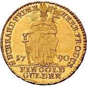1 Goldgulden - Franz Ludwig von Erthal – revers