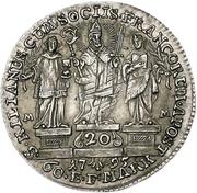 20 Kreuzer - Georg Karl von Fechenbach (Konventionskreuzer) – revers