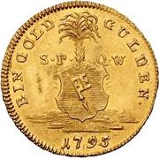 1 Goldgulden - Georg Karl von Fechenbach – revers