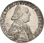 20 Kreuzer - Georg Karl von Fechenbach (Konventionskreuzer) – avers