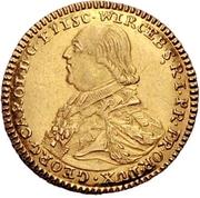 1 Goldgulden - Georg Karl von Fechenbach – avers
