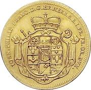 1 Goldgulden - Johann Philipp Franz von Schönborn (Bishop's Ascension) -  avers