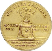 1 Goldgulden - Johann Philipp Franz von Schönborn (Bishop's Ascension) – revers
